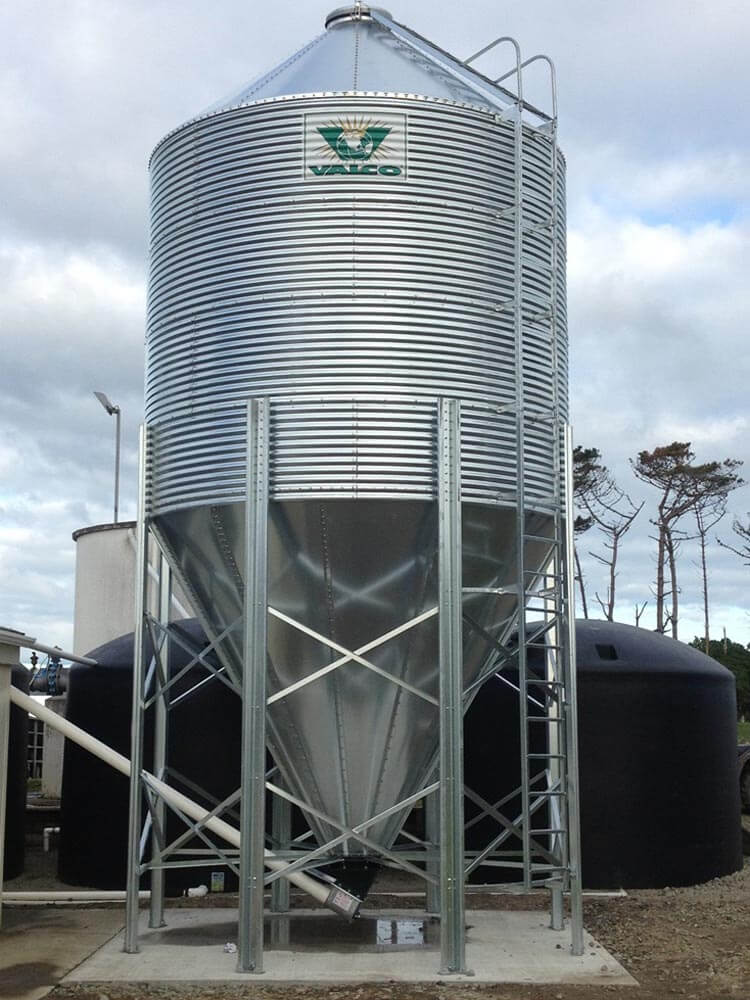 Rotary Feed System | Central Silo Systems