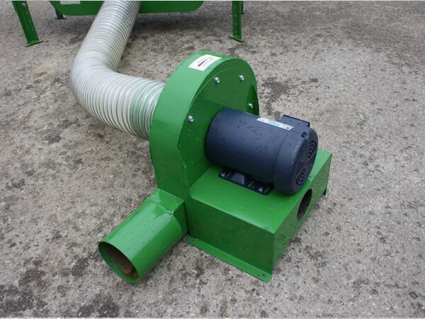 Grain Blower System : Grain vacs central silo systems